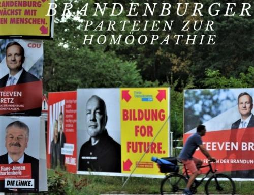 Brandenburg wählt: Wie stehen die Parteien zur Homöopathie?