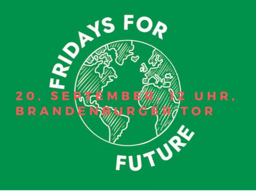 Berliner Verein homöopathischer Ärzte beteiligt sich am weltweiten Klimastreik 2019
