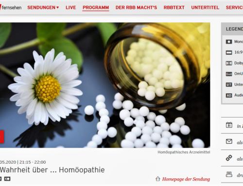 RBB: ´Die Wahrheit über Homöopathie`