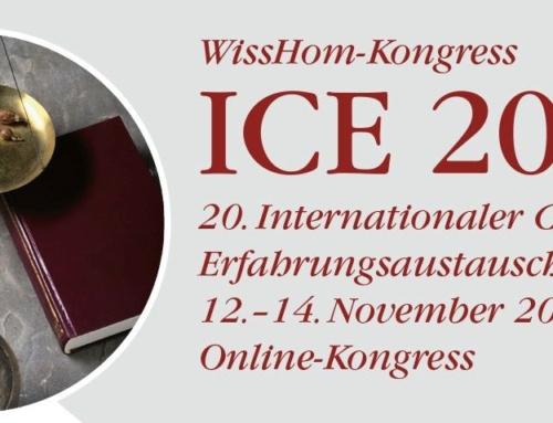 ICE 20: Homöopathie bei psychischen Erkrankungen, Schmerzen und Burnout